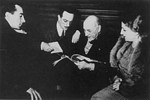 Pirandello con Eduardo, Peppino e Titina De Filippo