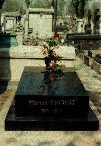 la tomba di Proust