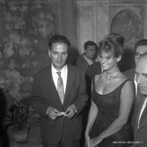 Cassola con Claudia Cardinale