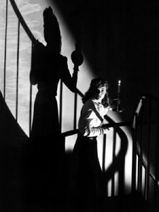 Dorothy McGuire (Bianca) in una scena del film