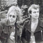 Elton John (sx) e Bernie Taupin (dx)