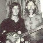 Eric Clapton e Duane Allman nel 1970