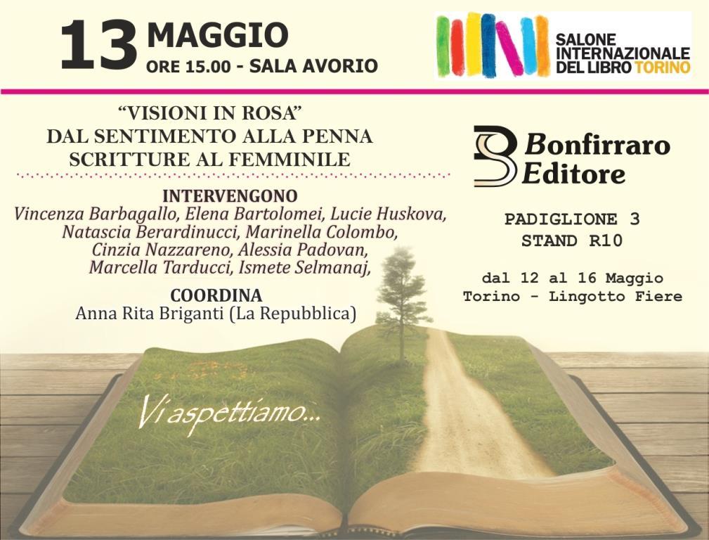 Visioni in rosa, immagine concessa dalla Bonfirraro Press