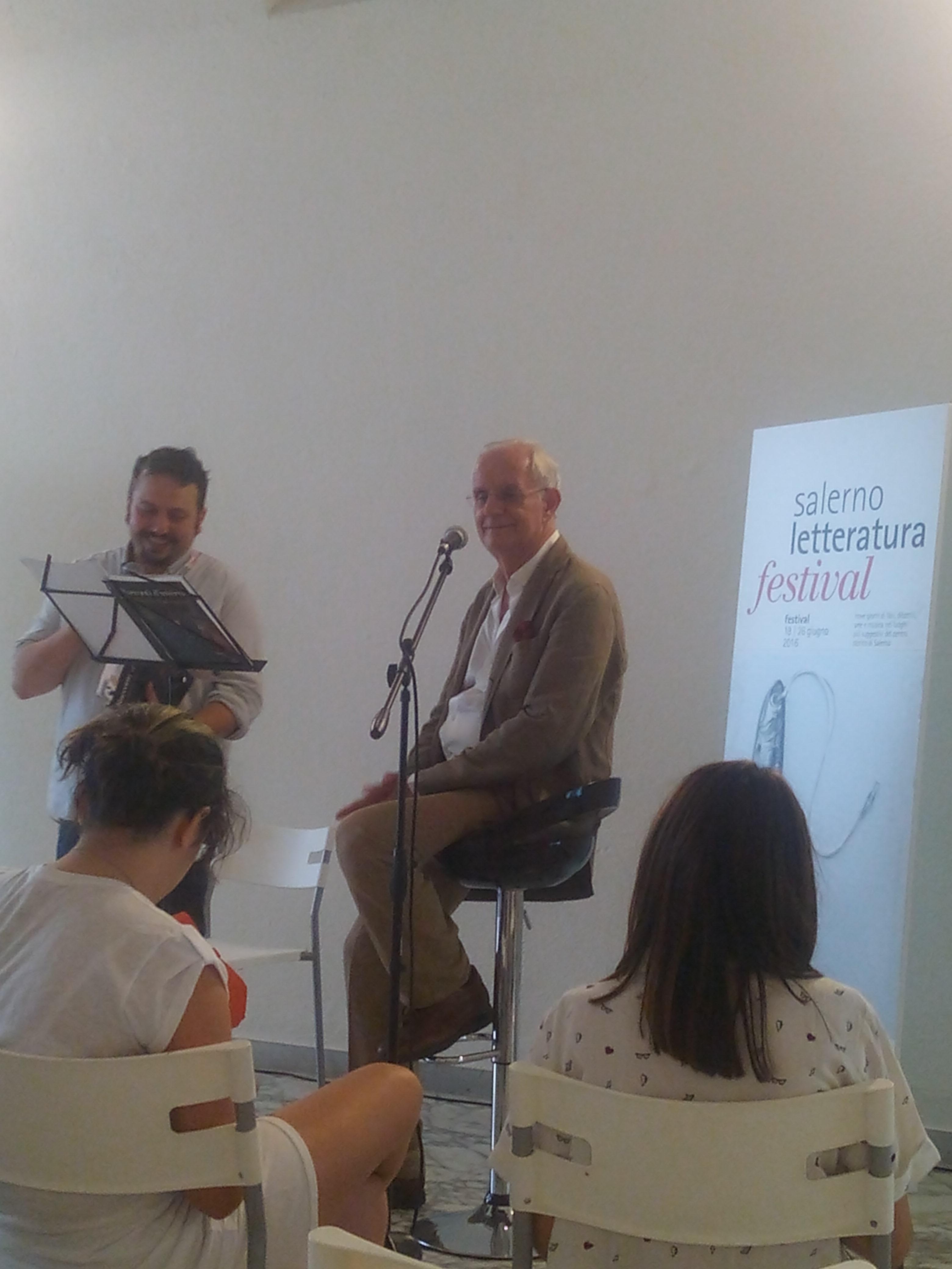 Idalberto Fei Festival della Letteratura di Salerno 2016