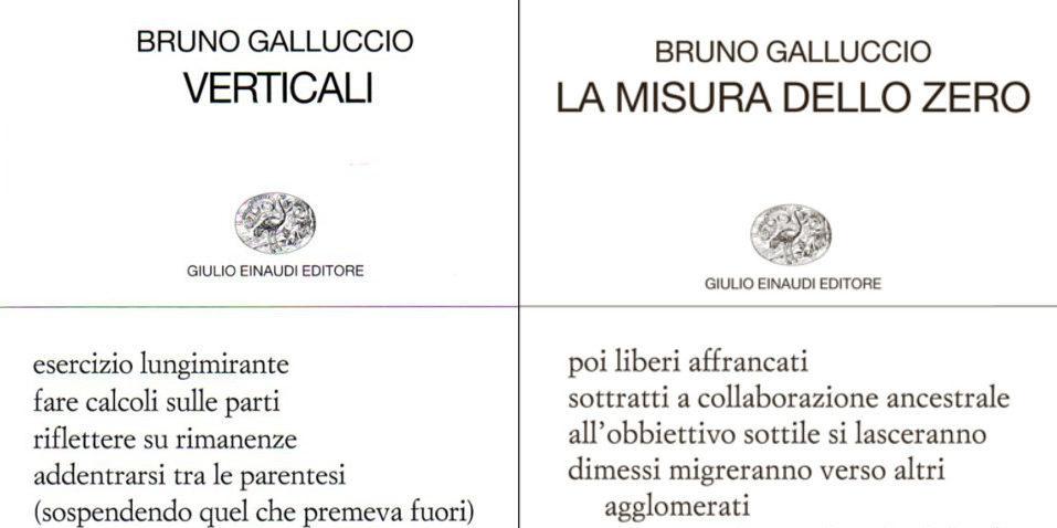 Incontro con Bruno Galluccio: tra poesia e scienza