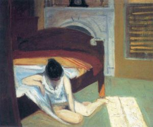 Summer Interior, 1909, Edward Hopper,