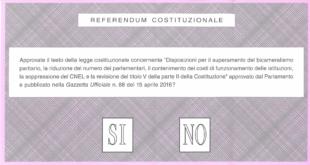 Verso il Referendum del 4 dicembre tra sì, no, ma anche