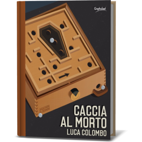 Luca Colombo, autore del grottesco 'Caccia al morto'