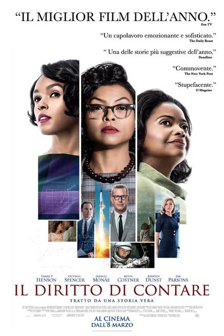 'Il Diritto di contare': il trionfo delle donne in una pagina sconosciuta della NASA, dall'8 marzo al cinema
