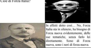 Gli scrittori Altiero Spinelli e Marinetti commentano l'intenzione di FN di fare una seconda marcia su Roma