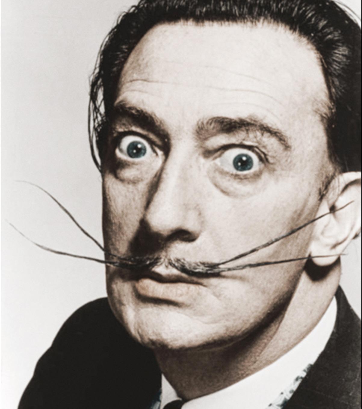 Salvador Dalí, vertigine pura, apoteosi dell'uomo e dell'artista