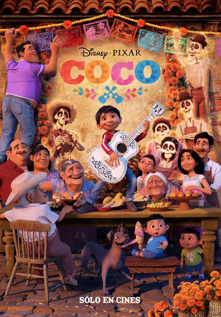 'Coco', il film d'animazione sull'importanza dei legami familiari della Pixar è già il più remunerato nella storia del box-office