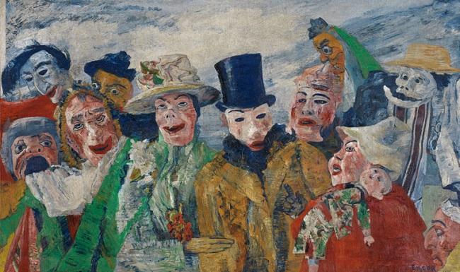 James Ensor, il pittore satirico e anarchico delle maschere che ha  anticipato le tendenze moderne e la società di massa - '900 Letterario |  Letteratura del '900, critica, eventi letterari, cinema, politica, attualità