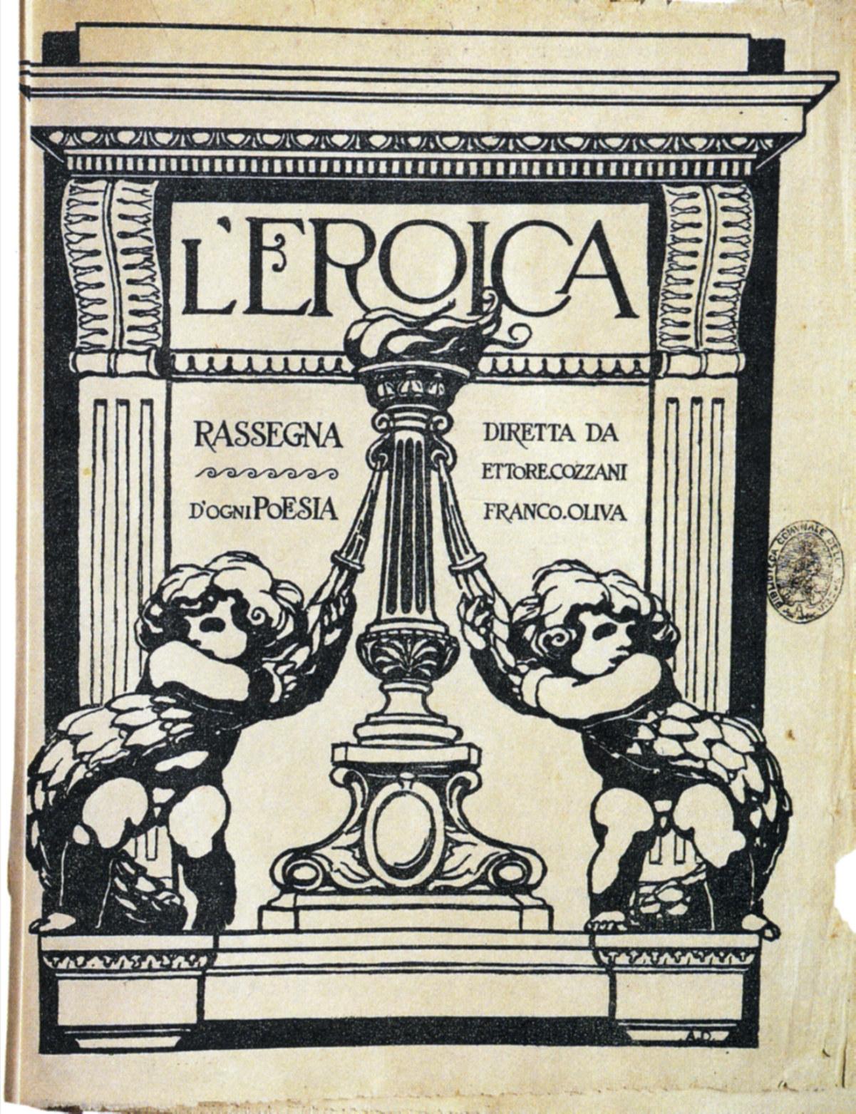 Ettore Cozzani, quando letteratura, editoria ed eroismo si incontrano