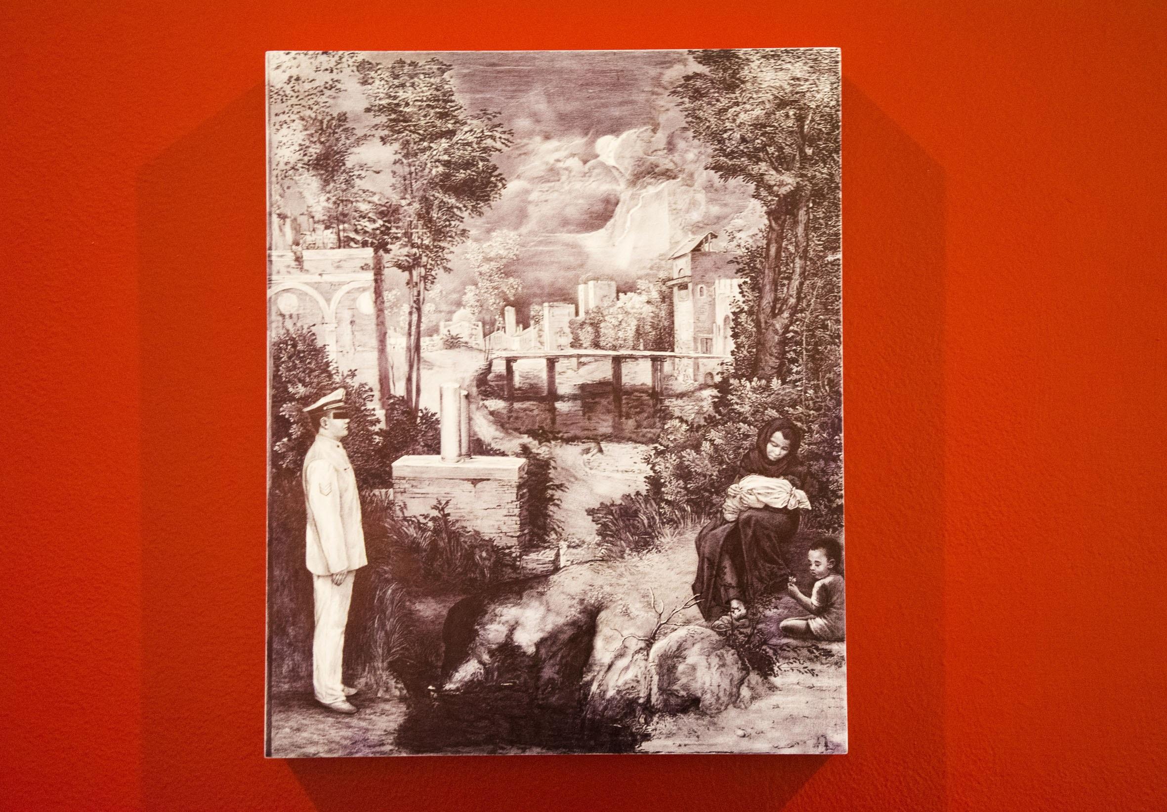 'Perché il cielo è di tutti e la terra no?' di Giuseppe Stampone in mostra al CIAC di Foligno fino al 30 settembre 2018