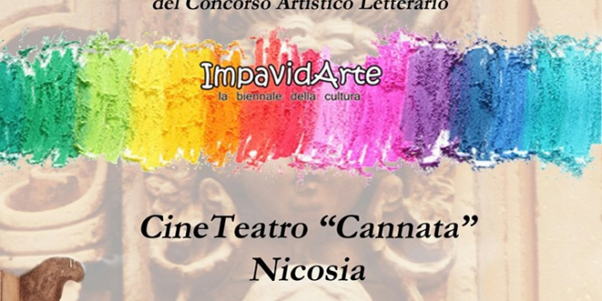 Vincenzo Cali' si classifica secondo a 'Impavidarte', biennale della cultura di Nicosia