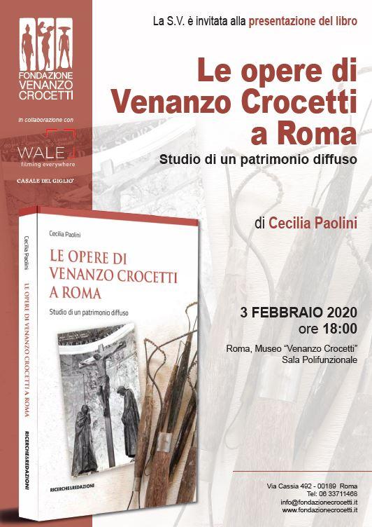 'Le opere di Venanzo Crocetti a Roma', il libro di Cecilia Paolini sul grande scultore italiano