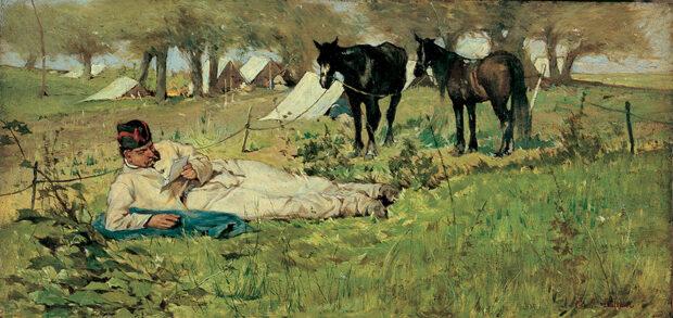 Giovanni Fattori, Lettera dal campo