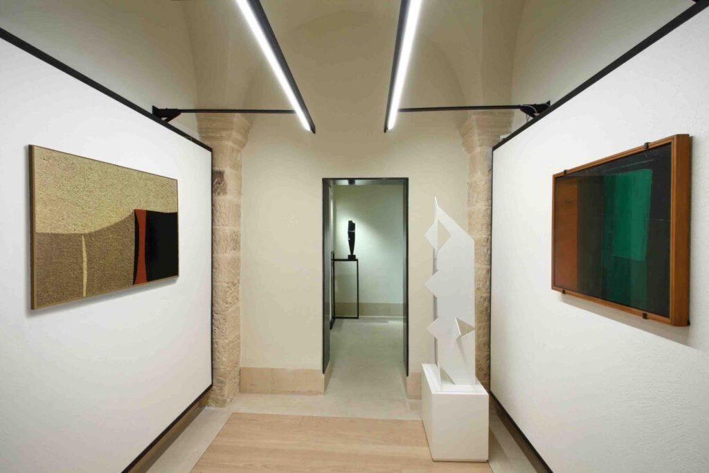 Collezione Biscozzi Rimbaud - Burri, Signori, Savelli, Chighine