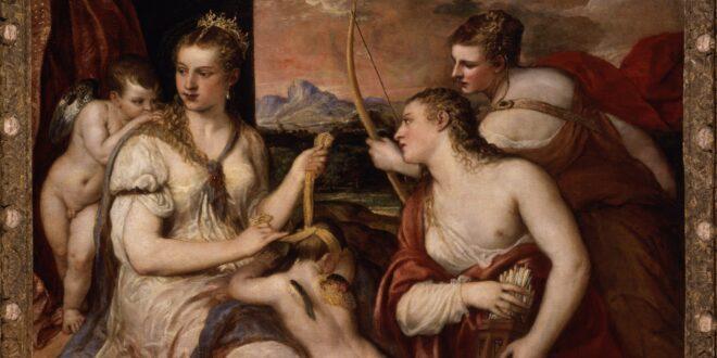 'Venere che benda Amore' di Tiziano, a Palazzo Te da oggi fino al 5 settembre