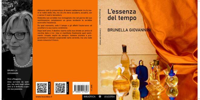 Brunella Giovannini autrice dell'avvincente romanzo 'L'essenza del tempo'