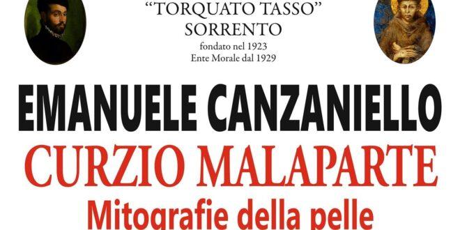"""La Napoli di Curzio Malaparte nella Conferenza """"Mitografie della pelle"""" del Prof. Emanuele Canzaniello organizzata dall'Istituto Tasso di Sorrento"""